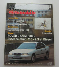 Revue technique automobile RTA 584 Rover série 600 essence atmo 2.0 2.3 & diesel