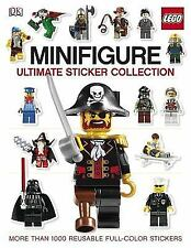 Brand New! LEGO Minifigure Ultimate Sticker Collection Book Over 1000 Stickers