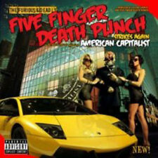 American Capitalist : Five Finger Death Punch NEW CD Album (SPINE784860 )