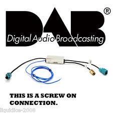 CT27AA133 FAKRA SMA DAB AERIAL ADAPTER CONNECTS2 CAR STEREO RADIO