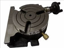 Brand New 3 Inches (75 mm) Quality Rotary Table -3 Slots for Small Milling Jobs