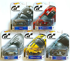 Set of 5 HOT WHEELS Retro Entertainment C Case Gran Turismo 1:64