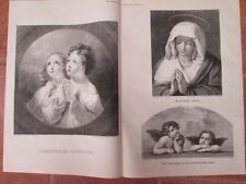 Vintage Print,CHRISTMAS PAINTINGS,Dec24,1875,Centennial Daily Graphic