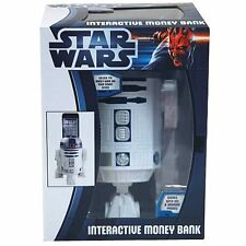"STAR WARS ~ R2-D2 8"" Interactive Money Bank (Zeon Ltd.) #NEW"