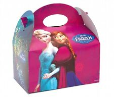 10 Disney Frozen Food Boxes ~ Picnic Carry Meal Box ~ Kids Birthday Party Bag