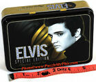 Elvis Presley Playing Cards _ 2 Unique Decks in Colorful Keepsake Tin