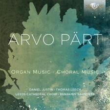 Justin - Arvo Pärt - Organ Music/Choral Music - CD