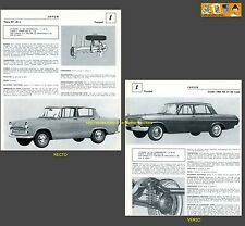 TOYOPET CROWN 1900/RS/31 LUXE + TIARA RT/20/L -  FICHE AUTO COLLECTION #J1