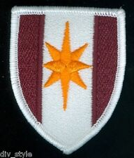 44th Medical Brigade embroidered patch merrowed edge US Army surplus