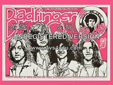 "Badfinger Austin City 16"" x 12"" Photo Repro Concert Poster"