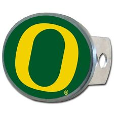 Oregon Ducks Metal Oval Hitch Cover Cap Plug NCAA Licensed Football Tow Truck