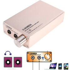 Portable HIFI AUDIO STEREO SPEAKER Earphone Headphone AMPLIFIER USB Rechargeable