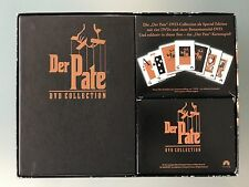 ** DER PATE, DVD-Collection, Special Edition, 5 DVDs + Kartenspiel, wie NEU **
