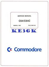 Commodore C64 C64C Service Manual * PDF * CDROM