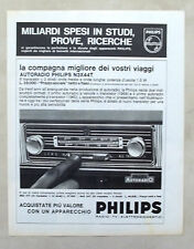 E457-Advertising Pubblicità-1964 - PHILIPS AUTORADIO N3X44T