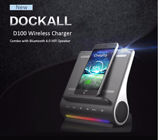 AZPEN D100 Qi Wireless Charger Bluetooth 4.0 Speaker Charging Dock Station Dual