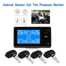 TPMS Wireless Tyre Pressure Monitor System With 4 Internal Sensors Temperature