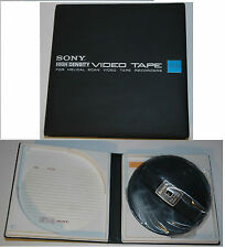 SONY VIDEO TAPE HELICAL SCAN VIDEO RECORDERS V-62 HIGH DENSITY