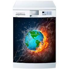 Magnet lave vaisselle Terre et feu 60x60cm réf 582 582