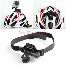 Bicycle Bike Helmet Mount Holder for Gopro Hero 4 3+ 3 2 Camera Sports Recorder