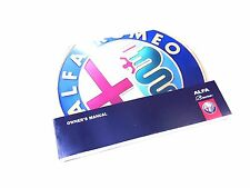 Alfa Romeo 939 Brera Owners Manual / Handbook new & Genuine 60438106 264 Pages