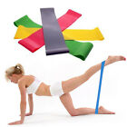 FITNESS EQUIPMENT ELASTIC EXERCISE RESISTANCE LOOP BANDS TUBE WORKOUT YOGA GB