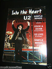 U2 INTO THE HEART AUSTRALIAN MAGAZINE ISSUE 6 1989 SIMPLE MINDS