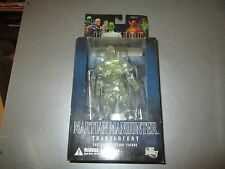 DC Direct Action Figure Justice League Series 5 Martian Manhunter Clear NIB