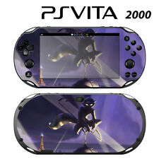 Vinyl Decal Skin Sticker for Sony PS Vita Slim 2000 Sly Cooper Thieve in Time 1