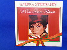 BARBRA STREISAND A CHRISTMAS ALBUM – RARE AUSTRALIAN CD NM