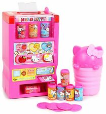 Hello Kitty Toy Vending Machine with Coins, Juice and Other Accessories