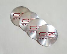 56mm Auto Car Wheel Center Caps Hub Cover Emblem Badge Sticker For OZ Racing