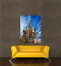 POSTER PRINT GIANT PHOTO CITY LANDMARK ST BASILS CATHEDRAL MOSCOW RUSSIA PAMP163