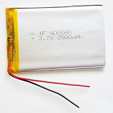 Ofeely 3.7V 2500mAh 405585 Lithium Polymer Battery Li ion Rechargeable
