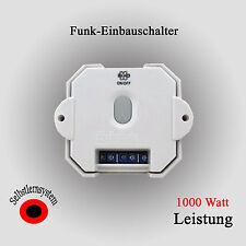 ELRO Home Comfort  Funk Empfänger Einbauschalter Funk  Einbau Schalter AB600IS