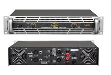 6500 Watts 2U PROFESSIONAL 2CH POWER AMPLIFIER AMP Stereo ATL-AUDIO Q-3000