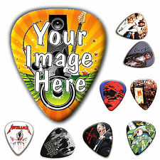 120Pcs Custom Personalized Celluloid Guitar Picks Plectrums Plectra  DIY Design