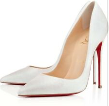 Christian Louboutin So Kate Glitter Glacier Heels Size EU37.5/UK4.5