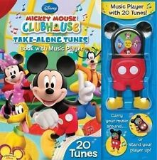 Mickey Mouse Clubhouse Take-Along Tunes: Book with Music Player, 20 Tunes Very G