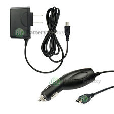 WALL AC + CAR CHARGER FOR GARMIN NUVI 1350 205 265W 250