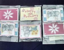 Gift tags,hazy days assorted Cute Birthday.6xpacks of 9...54 in total with ties