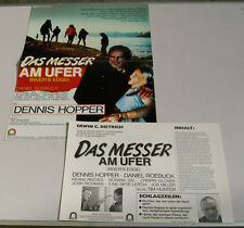 DAS MESSER AM UFER RIVER'S EDGE PRESSEINFO DENNIS HOPPER KEANU REEVES (k2)