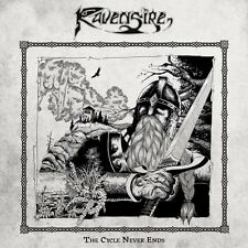 RAVENSIRE  - The Cycle Never Ends (LIM.350 BLACK V.*EPIC METAL*IRONSW.*TERMINUS