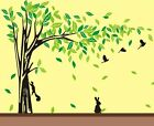 Jungle Tree Animals Removable Wall Art Stickers Kids Nursery Vinyl Decals Decor