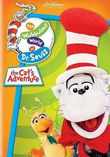 The Wubbulous World of Dr. Seuss The Cat's Adventure (DVD, 2013) Cat in the Hat