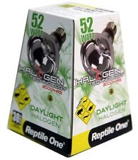 Reptile One R1-46672 Halogen Heat Lamp Daylight 52W E27 Screw Fitting Terrarium