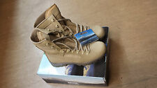 NEW British Army Issue Meindl Desert Fox Leather Combat Boots Size 10 UK