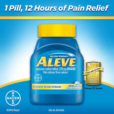 Aleve Naproxen Sodium - Pain Reliever Fever Reducer 320 Caplets