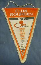 CJM BOURGES FRANCE BASKETBALL CLUB OFFICIAL BIG PENNANT 35x30cm OLD