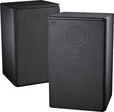 Open-Box: Insignia- 2-Way Indoor/Outdoor Speakers (Pair) - Black